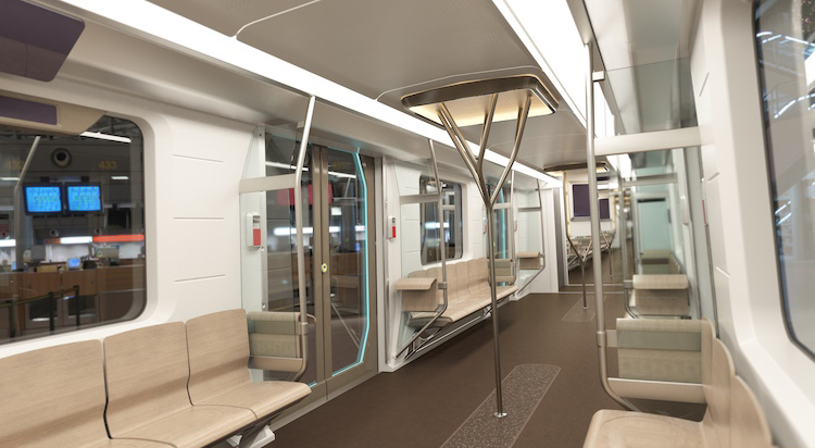 Interior of the Recyclable Traincar