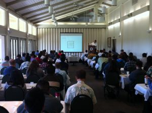 Charlie Cichetti teached LEED exam prep, LEED Training big class of 40 people in Hawaii - LEED Green Associate exam prep class