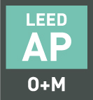 LEED AP O+M logo | Sustainable Investment Group