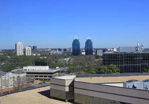 photo of concourse buildings in Sandy Springs, GA