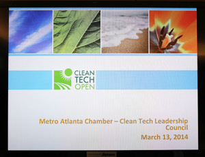 SE Clean Tech Open Meeting