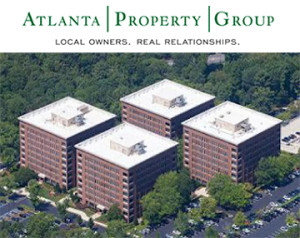aerial photo of Northcreek Office Park in Atlanta, GA