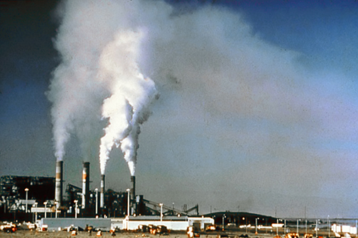 photo of carbon emissions
