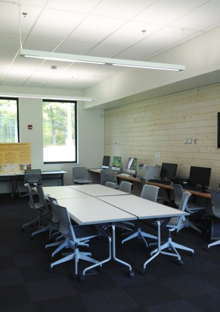 Classroom at Itasca Campus Center