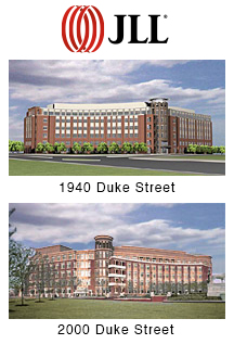 photos of 1940 and 2000 Duke Street | LEED Silver Certified