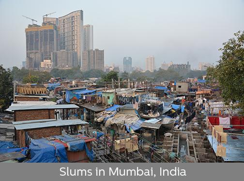 photo of slums of Mumbai, India | Sustainable Investment Group (SIG)
