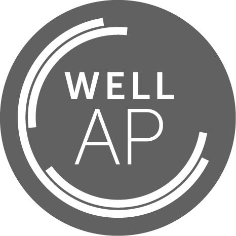 WELL AP logo - WELLness Real Estate credential logo