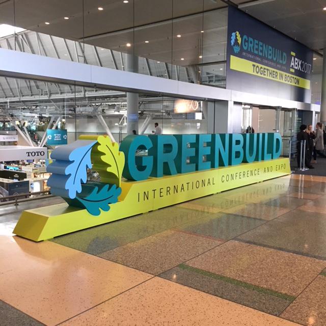 photo of Greenbuild sign | Greenbuild 2017