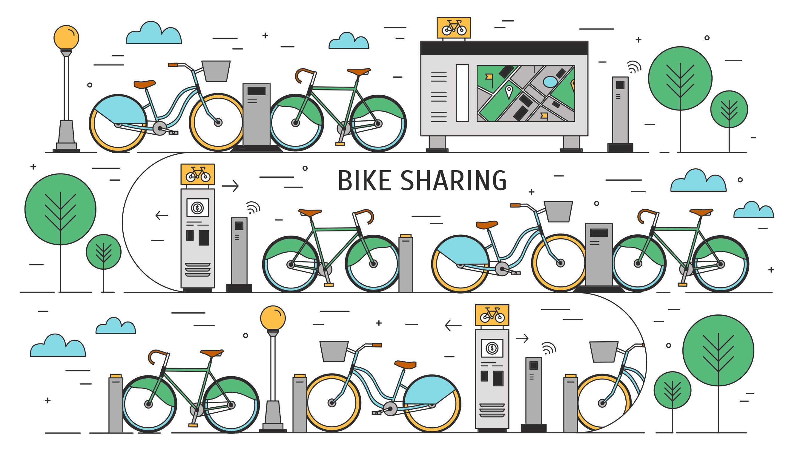 Gain Leed Credits By Encouraging A Bike Share System Sustainable