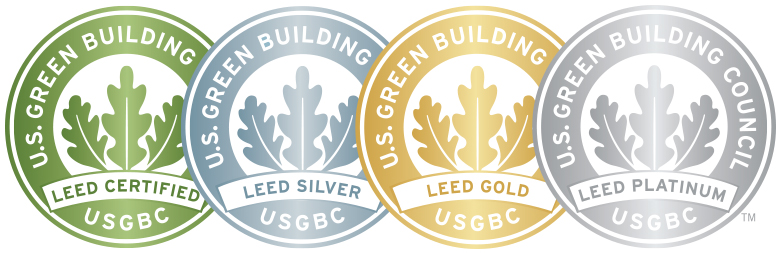 image of overlapping LEED seals
