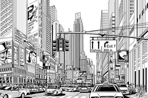 Building Energy Grades   New York City illustration