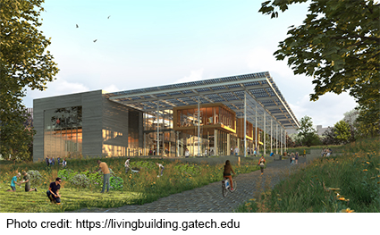 environmental education and research building at Georgia Tech
