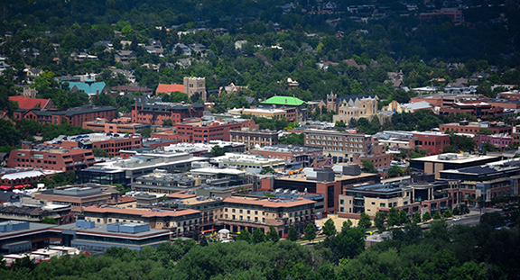 photo of downtown Boulder, Colorado