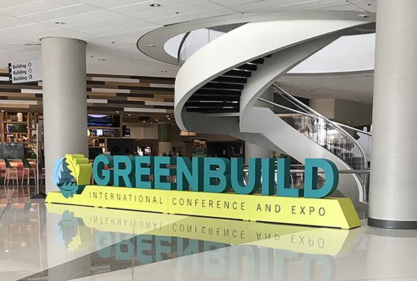 Greenbuild conference 2019 in Atlanta, GA