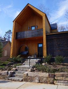 Scandinavian inspired home in Serenbe, GA