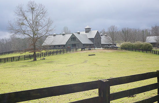 Horse barn at Serenbe, GA