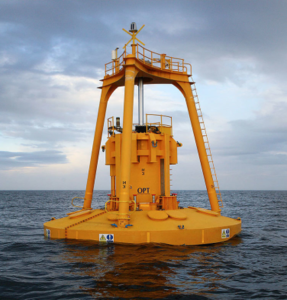 wave power buoy in Australia