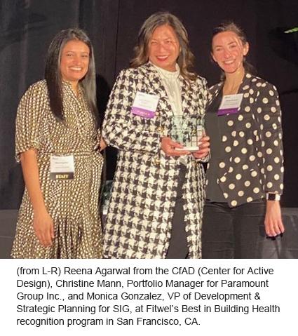 Best in Building Health Awards