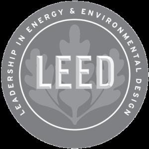 LEED logo grayscale