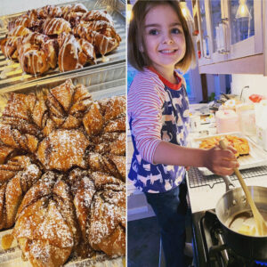 photo of snowflake pull-apart monkey bread | SIG