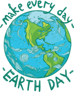 Make Every Day Earth Day illustration